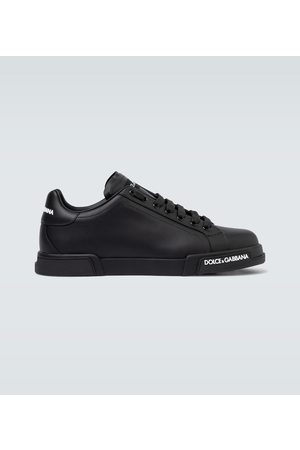 Dolce & Gabbana Port Light leather sneakers