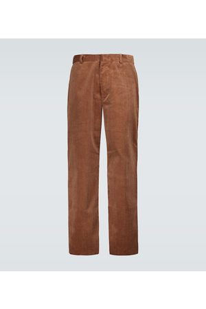 Alanui Men Chinos - Wide-leg corduroy pants