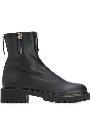 Giuseppe Zanotti Front zip ankle boots