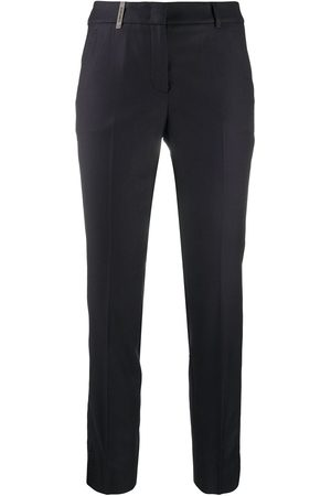 PESERICO SIGN Cropped tailored trousers
