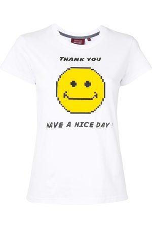 MOSTLY HEARD RARELY SEEN Slogan print T-shirt