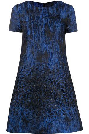 TALBOT RUNHOF Embellished flared dress