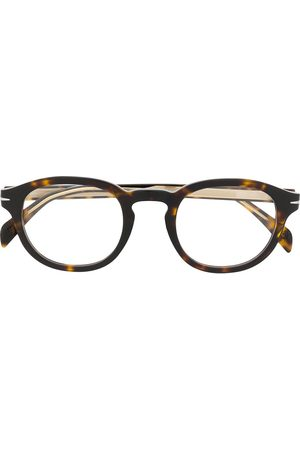 David beckham DB 7017 round frame glasses