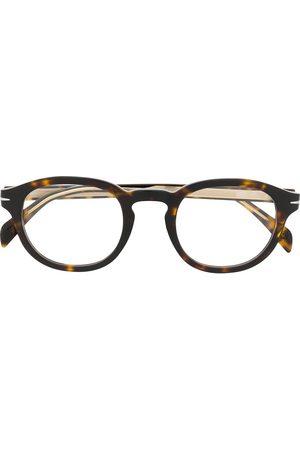 Eyewear by David Beckham DB 7017 round frame glasses