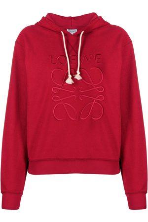 Loewe Logo-embroidered hoodie
