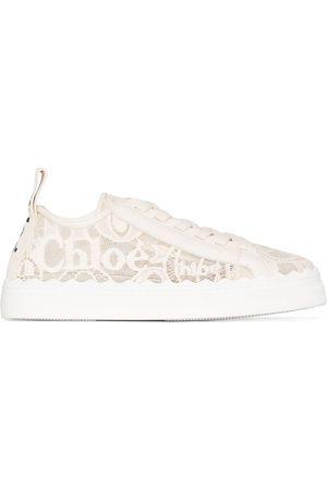 Chloé Lauren lace-detail sneakers