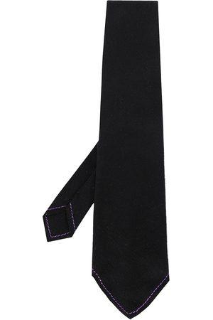 Gianfranco Ferré 1990s contrast stitch tie