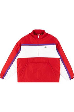 Supreme X Lacoste puffy half zip pullover