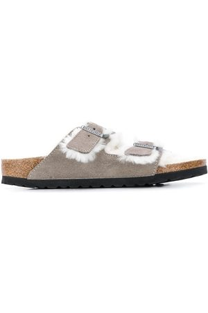 Birkenstock Arizona two-strap shearling sandals