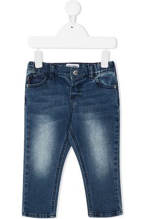 Moschino Light-wash skinny jeans