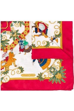 Hermès 1990s pre-owned Foies D'Hiver scarf