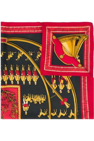Hermès 1980s pre-owned Sonneurs de Trompe scarf