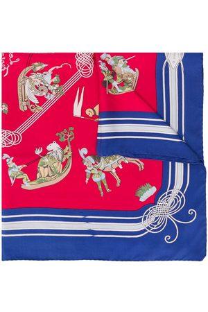 Hermès 2000s pre-owned Les Fantaisies Du Roy scarf