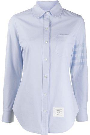 Thom Browne 4-bar long sleeves shirt
