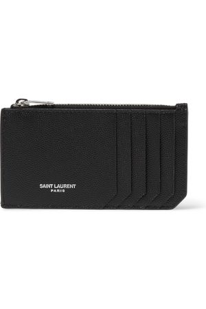 adidas Men Wallets - Pebble-Grain Leather Cardholder