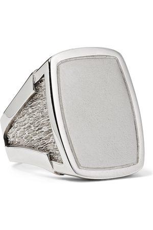 Bottega Veneta Sterling Signet Ring