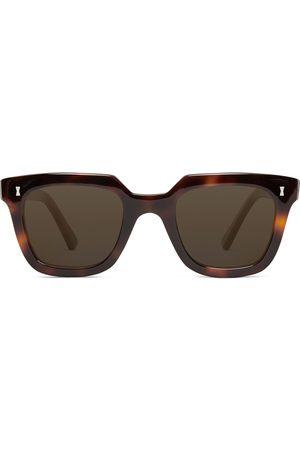 Cubitts Balfour Square-Frame Tortoiseshell Acetate Sunglasses