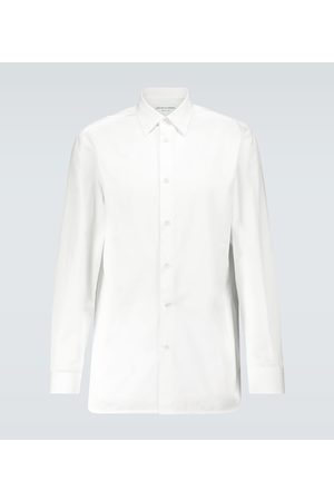 Bottega Veneta Long-sleeved cotton formal shirt