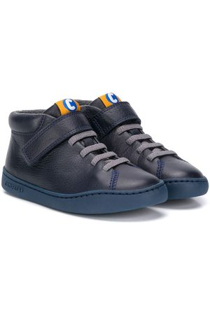 Camper Kids Touch-strap high-top sneakers