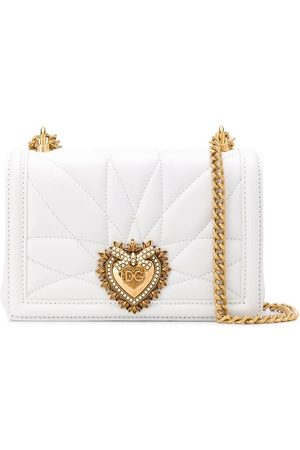 Dolce & Gabbana Devotion heart leather cross body bag