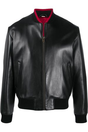 Gucci Lambskin leather bomber jacket
