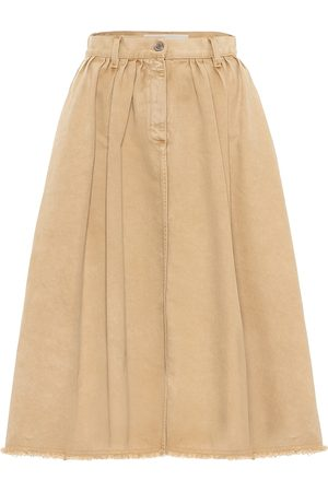 Golden Goose Adele denim midi skirt