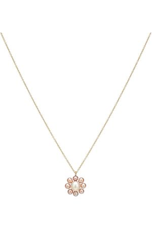 SOPHIE BILLE BRAHE Exclusive to Mytheresa – Margherita Rose 14kt and pearl necklace