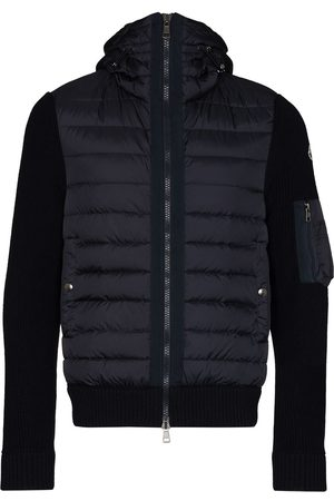 Moncler Knit detail padded jacket