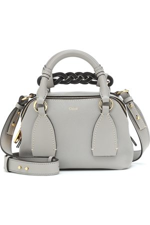 Chloé Women Bowling Bags - Daria Small leather shoulder bag