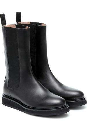 LEGRES Leather Chelsea boots