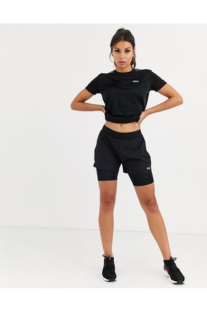 ASOS Icon woven run short with underlayer