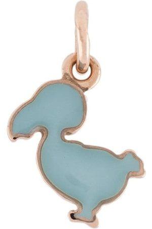 Dodo Girls Necklaces - 9kt rose gold and enamel Junior charm