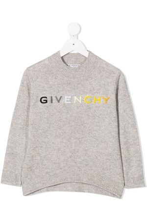 Givenchy Embroidered logo jumper