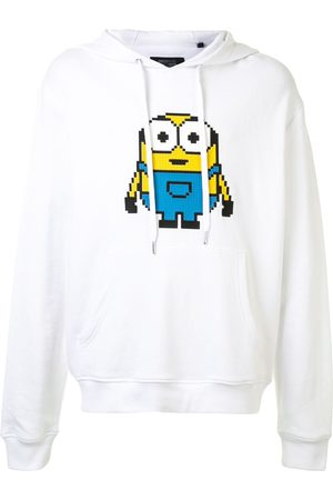 MOSTLY HEARD RARELY SEEN Minions print hoodie