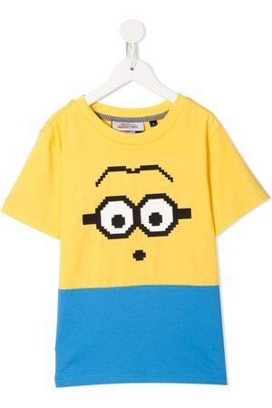 MOSTLY HEARD RARELY SEEN Minion print T-shirt