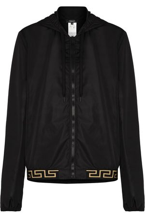 VERSACE Greca detail lightweight jacket