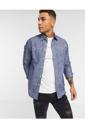 G-Star Kinec chambray shirt in