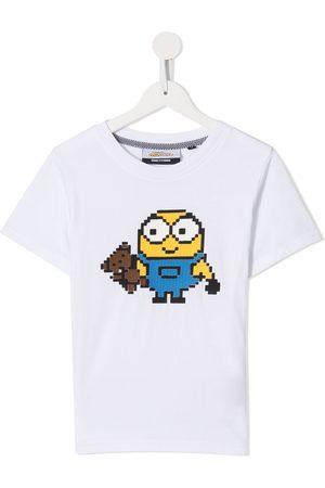 MOSTLY HEARD RARELY SEEN Minions print T-shirt