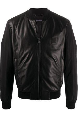 Dolce & Gabbana Leather panel jacket