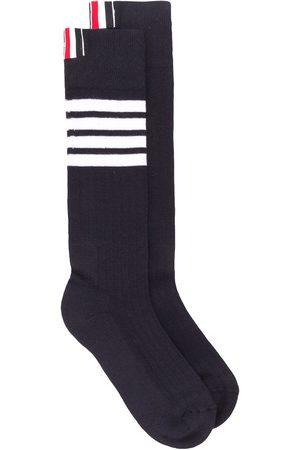 Thom Browne 4-Bar athletic mid-calf socks