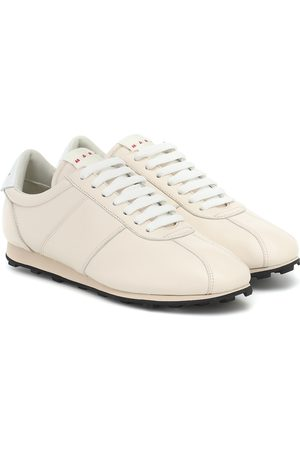 Marni Low-top leather sneakers