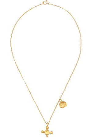 Alighieri Women Necklaces - The Memory and Disaster 24kt -plated necklace