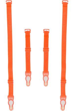 MAISON CLOSE Signature logo suspender straps
