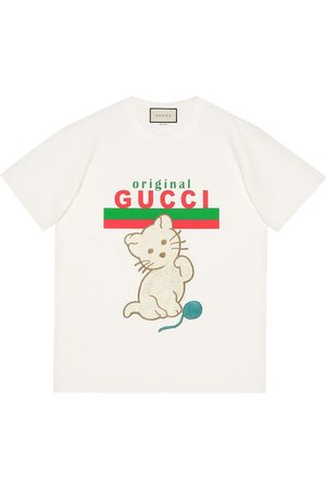 Gucci Kitten relaxed-fit T-shirt