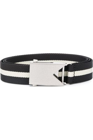 Bottega Veneta Slide buckle striped belt