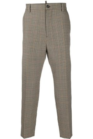Dsquared2 Check tailored trousers