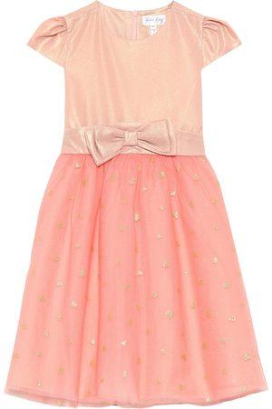 Rachel Riley Lamé and tulle dress