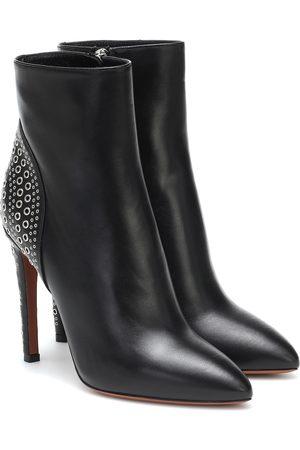 Alaïa Embellished leather ankle boots