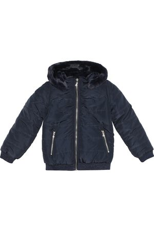 Tartine Et Chocolat Reversible hooded jacket