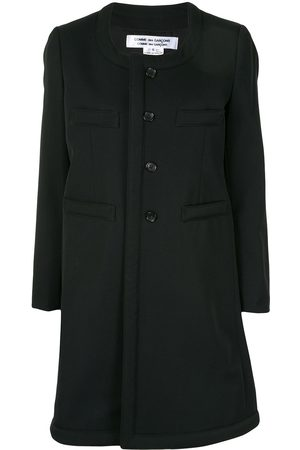 Comme des Garçons Collarless single-breasted coat